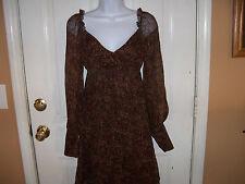 Gianni Bini Brown Dress Size 2 Women's NWOT