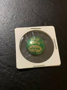 1969 New York Jets Logo AFL Football Pin Button