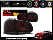 FEUX ARRIERE ENSEMBLE LDVW71 VW GOLF 6 2008 2009 2010 2011 2012 RED SMOKE LED