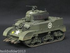 TAMIYA M5-A1 US TANK PRO BUILT AND PAINTED 1/35 DRAGON AIRFIX ITALERI