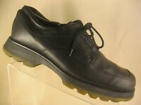 BED STU Lace Up Black Leather Casual Oxford Derby Shoes Men's Size 10 US 43 EUR
