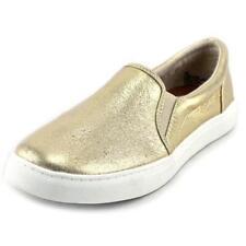 Calzado de mujer mocasines color principal oro de lona