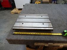 17x13x1 Steel Weld 4 T Slot Table Cast Iron Layout Plate Fixture Jig