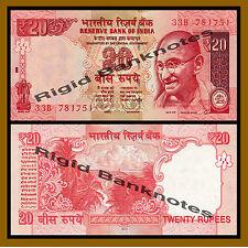 India 20 Rupees, 2012 P-103a New Rupee Symbol Unc