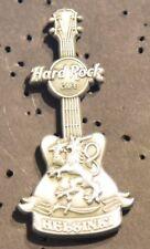 Hard Rock Cafe Helsinki Antique 3D Guitar pin 2012