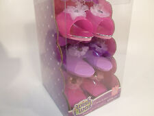 Girls Princess Fashion Dress Up Gift Set Shoes Costume Pretend Play Pink Purple