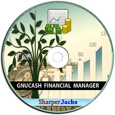 NEW & Fast Ship! GnuCash Personal & Small Business Financial Accounting Program