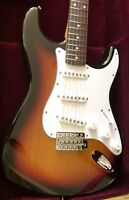 Tokai Japanese S88 Reissue Stratocaster With Large Headstock Three Tone Sunburst