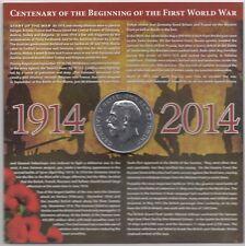 1914-2014 Centenary Of The Beginning of the First World War Medallion