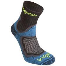 Bridgedale Run Speed Coolfusion Mens Blue Black Running Trail Cushioned Socks M