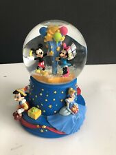 Disney 100th Anniversary Mickey & Minnie Mouse Musical Snowglobe