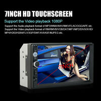 Double 2 Din 7inch HD Touchscreen In Dash GPS Car Stereo Radio MP5/MP3 Player FM