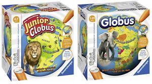 tiptoi® - Der interaktive GLOBUS / GLOBUS JUNIOR - RAVENSBURGER # NEU OVP