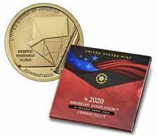 2020 American Innovation $1 Reverse Proof Coin - Connecticut