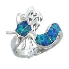 Neues AngebotSterlingsilber Opal Drachen Ring