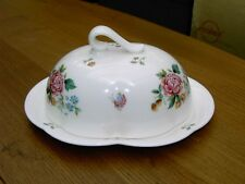 Royal Crown Derby ( Derby Days ) Butter Dish 2nd Quality In V.G.C. Free UK P&P