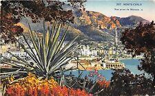 B38539 Monte Carlo Vue prise de Monaco