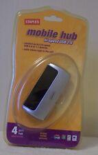 STABLES MOBILE HUB-HI -SPEED USB 2.0  4 PORT HUBS  BRAND NEW