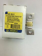 NEW Square D CC26.3 Thermal Overload NEW IN BOX