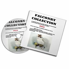 HAWKING FALCONRY PDF BOOKS + LEATHER PATTERN TEMPLATES + HOOD MAKING SOFTWARE