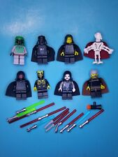 Lego Star Wars Lot 8 Minifigures Grievous Dooku Vader Maul Emperor Boba More!