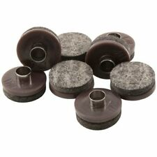 """Nail-on 1"""" Heavy Duty Felt Pads for Wood Furniture and Hard Surfaces 8 piece ."""