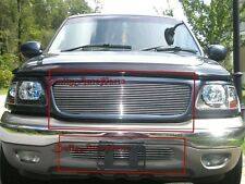Billet Grille Insert 99 - 03 Ford F-150 2WD Front Grill Combo Aluminum
