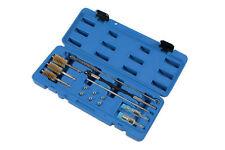 Inyector Diesel asientos Limpiador Brochas Driver Puerto Sellado enchufes kit de herramientas