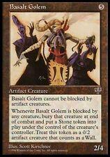 4x Basalt Golem Mirage MtG Magic Artifact Uncommon 4 x4 Card Cards