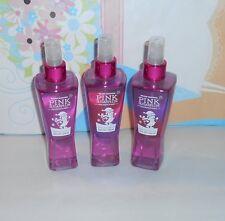 Bath & Body Works Original Pink Sugarplum Fragrance Mist 8 Oz. X 3 NEW RARE