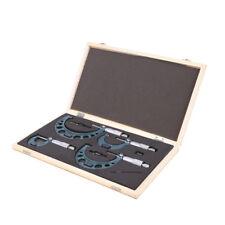 Mikrometer Satz 0 - 100 mm Bügelmessschraube Messschraube Bügelmessschrauben SET