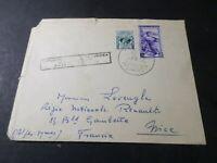 ITALIE ITALIA 1953, 2 timbres oblitérés sur LETTRE CACHET EXPO FILATELICA EUROPE