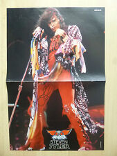 "Steven Tyler ""aerosmith"" autógrafo signed 28x41 cm póster dobladas"