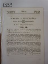 Govt Report Elizabeth S. R. Sally Widow Pension from Captain Samuel Russel #1333