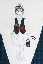 Dreamspinners Harvest Vest Fabric Sewing Material Pumpkin Scarecrow XS S M L