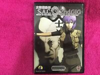 S. A. C. Ghost IN The Shell DVD 2ND Gig Stand Alone Complex Vol 10 Anime Manga