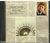 Chopin: Piano Sonata no 2, Liszt: Sonata in Si Minore / Emil Gilels - CD