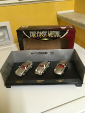 RARE NOS 3 VEHICLE PORSCHE COLLECTOR'S EDITION IN ORIGINAL BOX BY ROAD SIGNATURE
