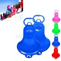 63CM Outdoor Skiing Pad Sled Children Kid Winter Sledge Snow Luge Board Snowboad