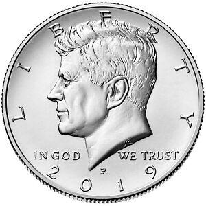 2019-P  Kennedy Half-Dollar