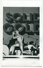 """Vintage """"Las Vegas News Bureau"""" Publicity Photo: TV's """"SOLID GOLD"""""""