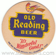 Reading It's Wonderful Good Beer Coaster