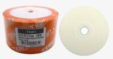 300 TITAN 16X DVD-R White Inkjet HUB Printable Disc [FREE EXPEDITED SHIPPING]