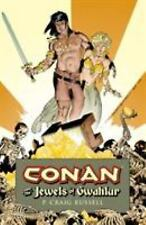 Conan and the Jewels of Gwahlur by P. Craig Russell Hardcover Book