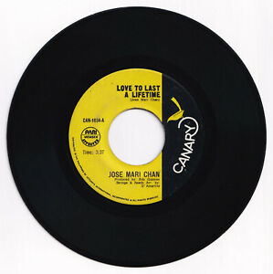 Philippines JOSE MARI CHAN Love To Last A Lifetime OPM 45 rpm Record