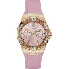 AUTHENTIC GUESS LADIES' LIMELIGHT WATCH GOLD W1053L3 Brand New