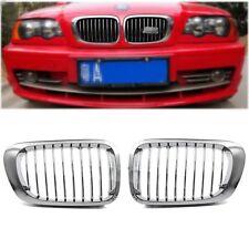 FÜR BMW E46 3er COUPE / CABRIO M3 1999-2002 NIEREN GRILL CHROM
