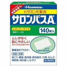 Hisamitsu Salonpas 140 Feuilles pour Soulagement de Douleur Musculaire (4987188100325)