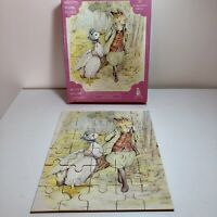 Rare Vintage Jemima Puddle-Duck And The Fox N:4 Beatrix Potter Wooden Puzzle 30