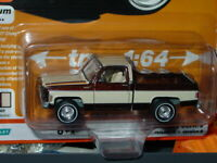 AUTO WORLD 1977 77 CHEVY BONANZA C-10 FLEETSIDE PICKUP TRUCK -Brown, MIP